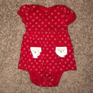 Carter's Christmas Santa Dress